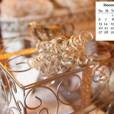 December FREE Desktop Calendar