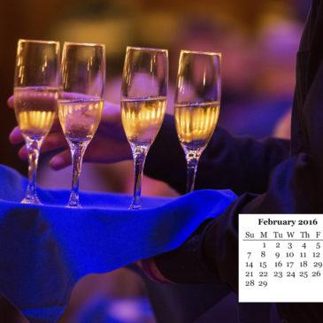 February FREE Desktop Calendar