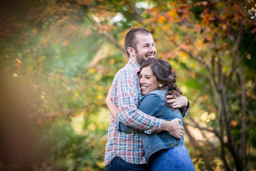 engagement session during the fall arnold arboretum