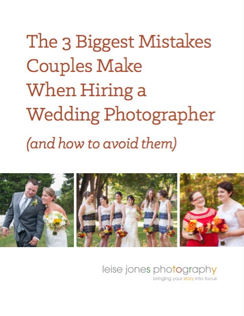 FREE The 3 Biggest Mistakes Couples Make When Hiring a Wedding Photographer