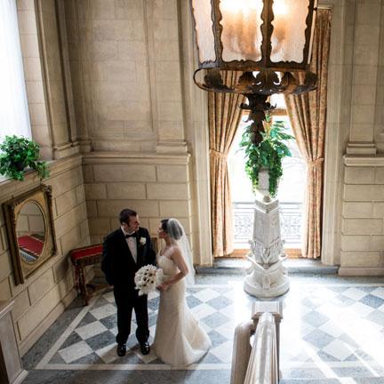 Wedding at Aldrich Mansion