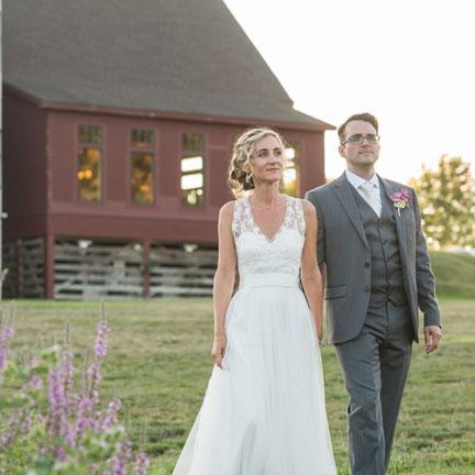Wedding at the Barn at Gibbett Hill
