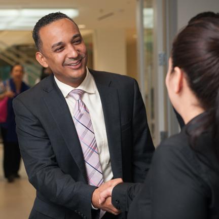 Business Associate Handshake