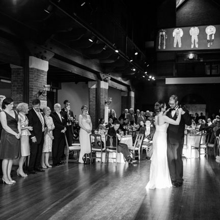 Wedding at Larz Anderson Auto Museum