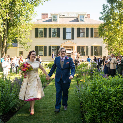 Wedding at The Loring-Greenough House