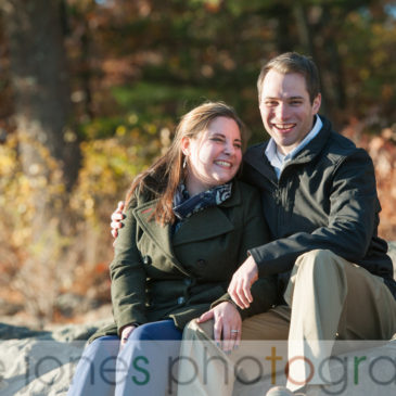 Caroline & Kyle's Fall Engagement Photos