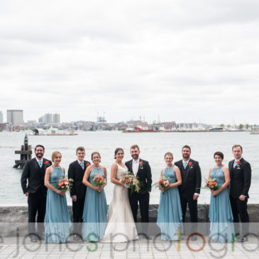 Kristin & Asa's Wedding Photos from Harborside Boston Wedding