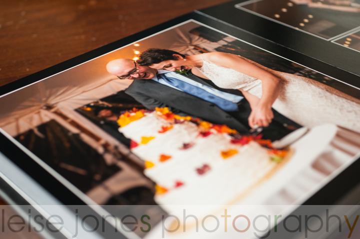 formal wedding album boston photographer