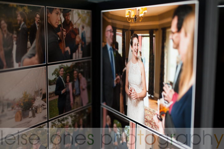 boston photographer heirloom wedding album