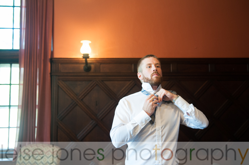 mansion at turner hill wedding photography groom getting ready