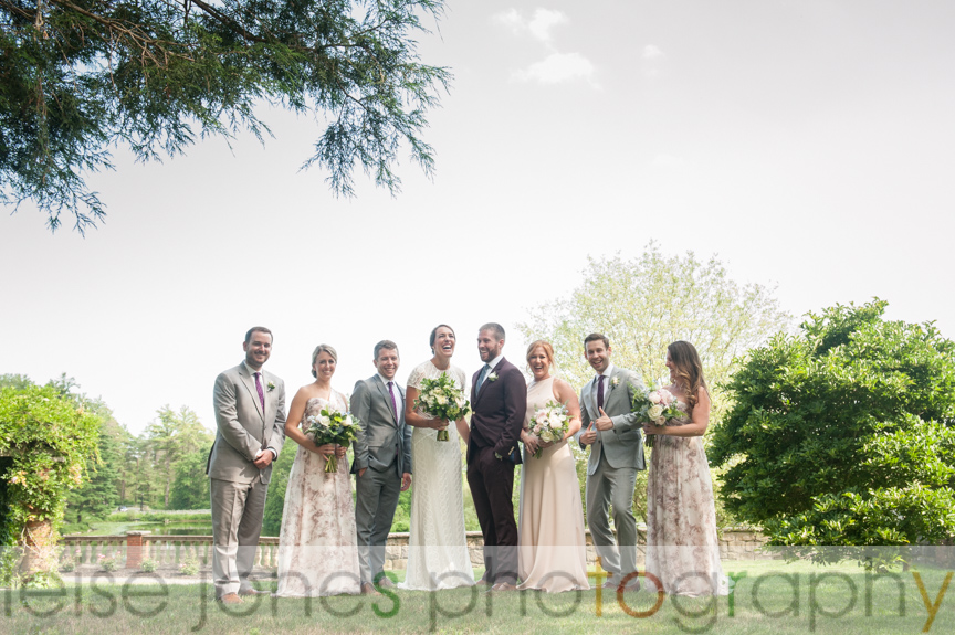 mansion at turner hill wedding party