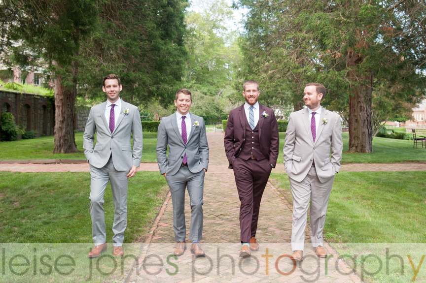 mansion at turner hill wedding groomsmen