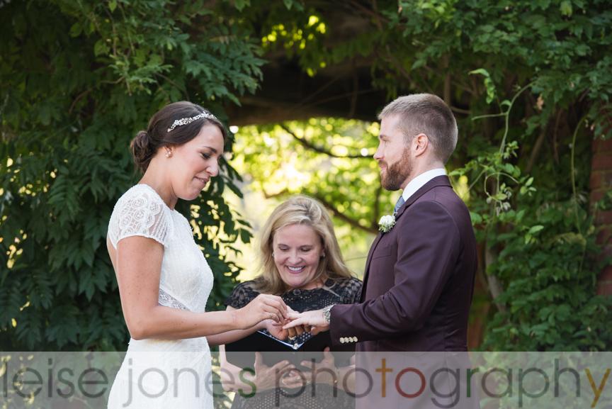 mansion at turner hill outdoor wedding ceremony