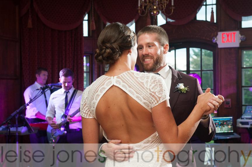 mansion at turner hill wedding first dance