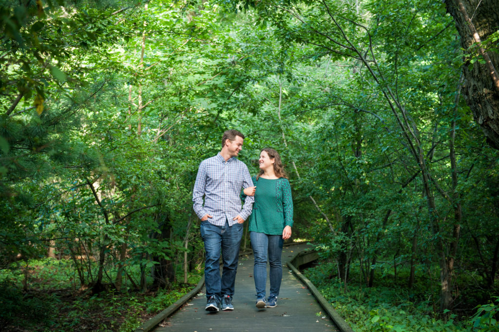 hall's pond sanctuary engagement photos brookline boston