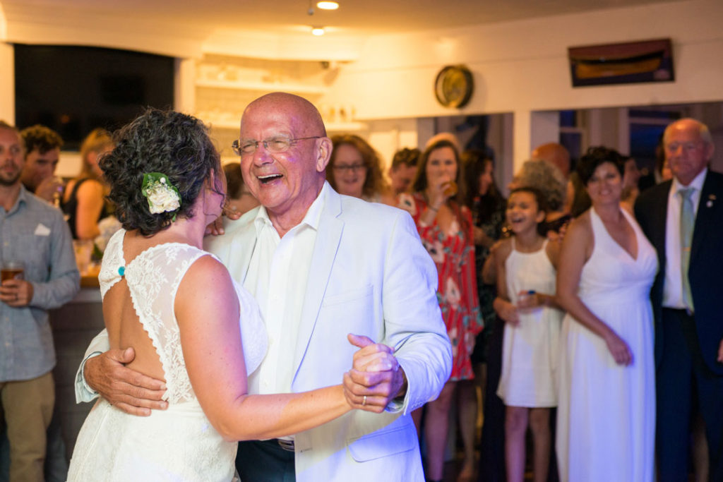father daughter dance at cape cod wedding