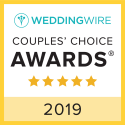 Wedding Wire Couples' Choice Award Winner 2019