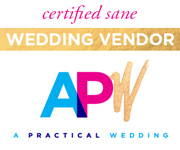 A Practical Wedding Certified Sane Wedding Vendor