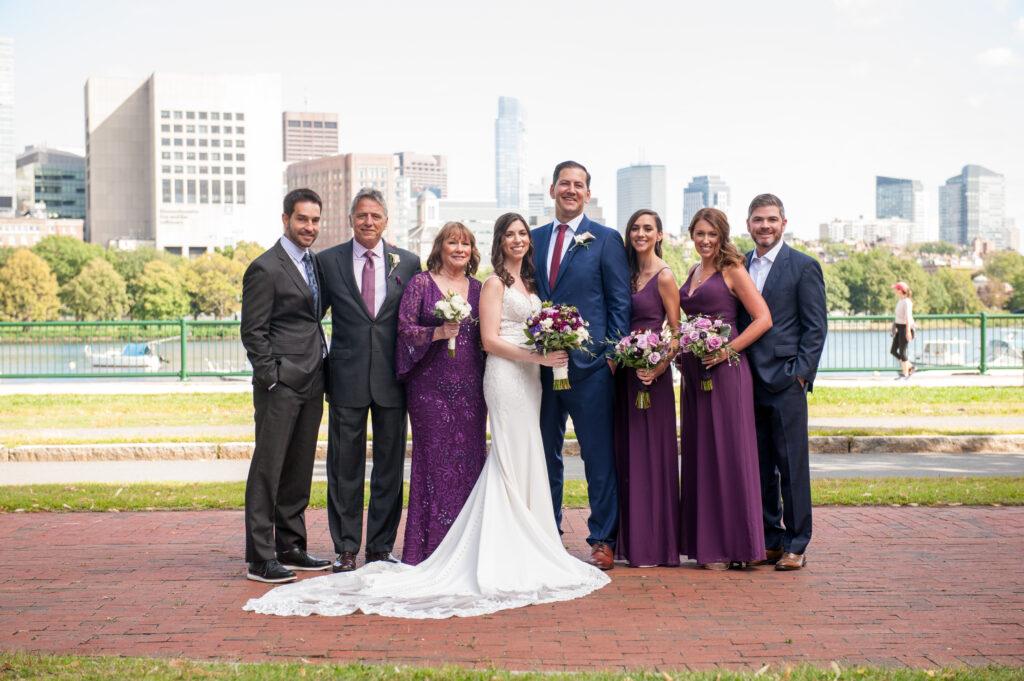 cambridge wedding family photos charles river