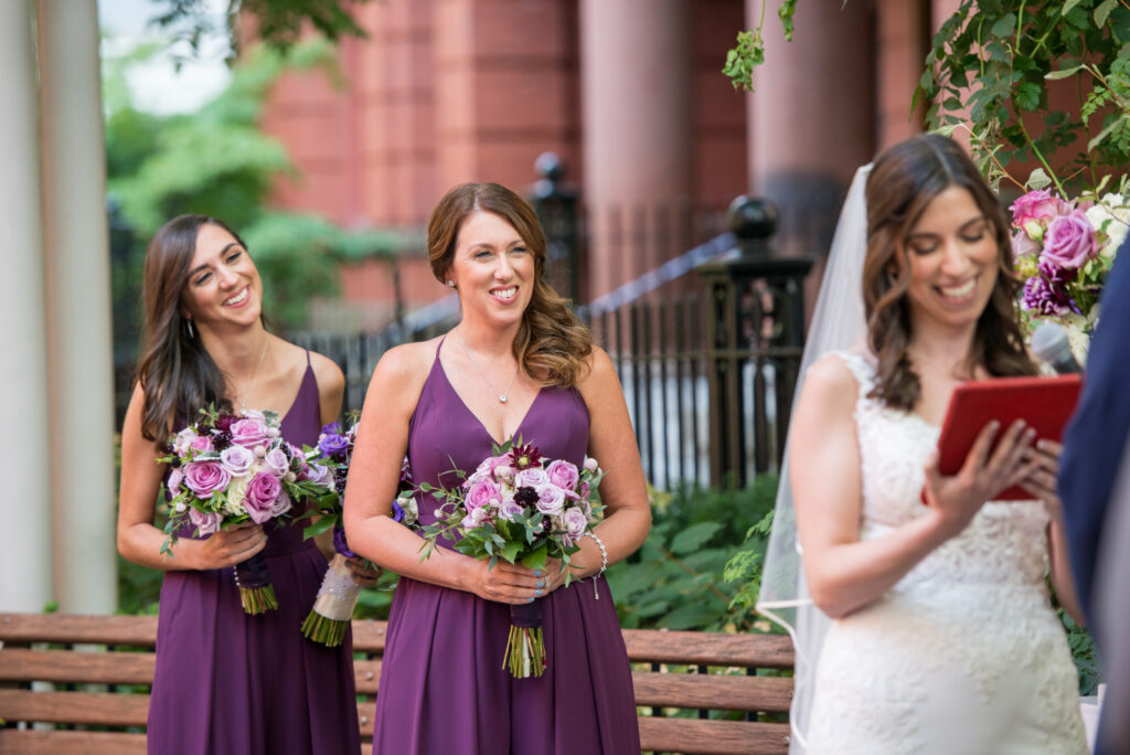 authentic laughter cambridge wedding ceremony